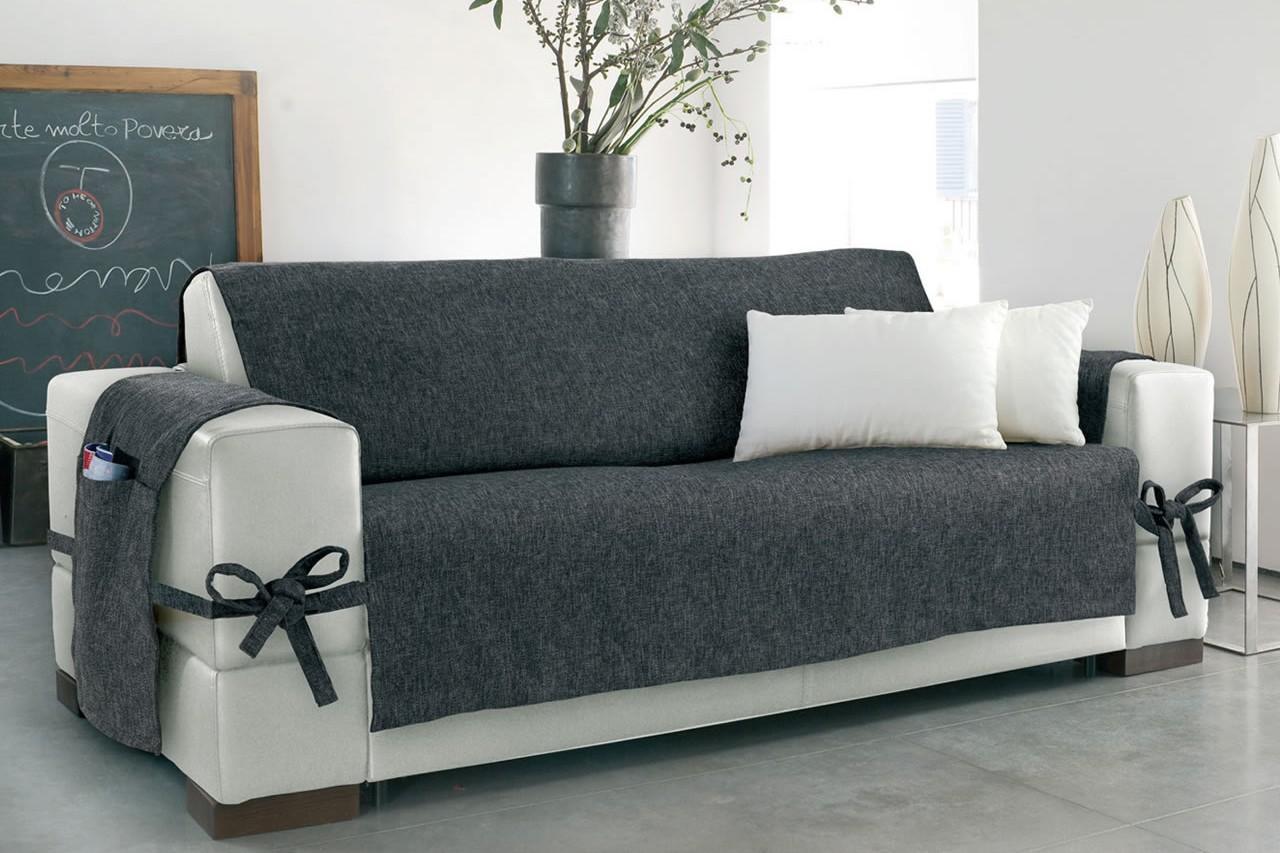 Coprire divano con un telo idee per il design della casa for Rivestire divano pelle