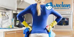 chiama weclean per le pulizie di casa tua