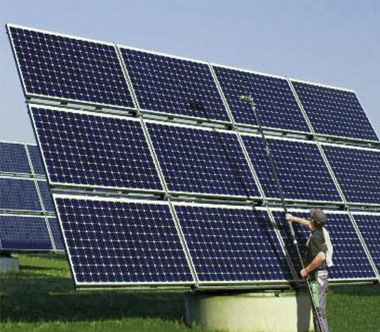 come pulire i pannelli solari